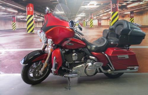 TOURING ELECTRA GLIDE ULTRA CLASSIC CVO
